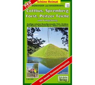 Cottbus, Spremberg, Forst, Peitzer Teiche und Umgebung