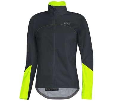 C5 Damen GORE-TEX Active Jacke black/neon yellow | 36