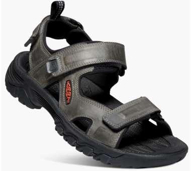Men's Targhee III Open Toe Sandal grey/black | US 10,0