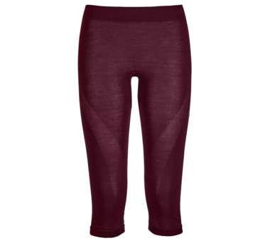 120 Comp Light Short Pants Women dark wine | S