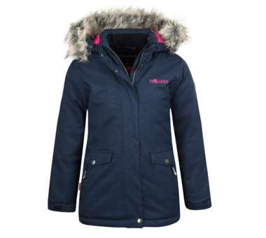 Girls Oslo Coat XT navy/magenta   164