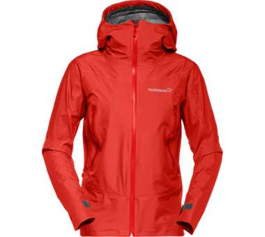 Falketind Gore-Tex Jacket (W) crimson kick red | S