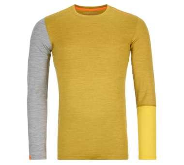 185 Rock'N'Wool Long Sleeve Men yellow corn blend   XL
