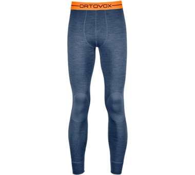 185 Rock'N'Wool Long Pants Men night blue blend | S
