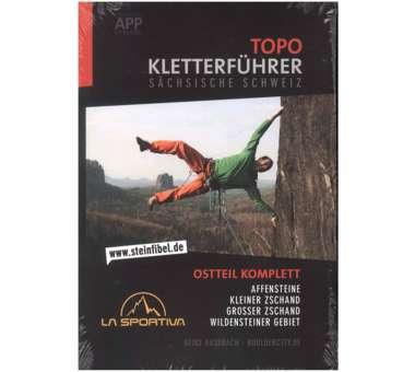 Topo Kletterführer Sächsische Schweiz Ostteil 2016