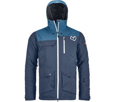 2L Swisswool Andermatt Jacket Men night blue | S