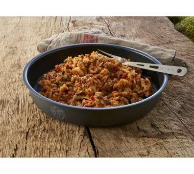 TREK/'N EAT Reispfanne Balkan Rindfleisch Trekking Mahlzeit Outdoor Essen Nahrung