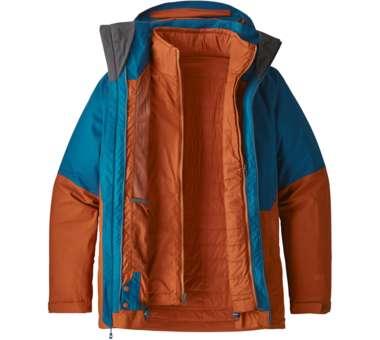 3-in-1 Snowshot Jacket Men big sur blue | S