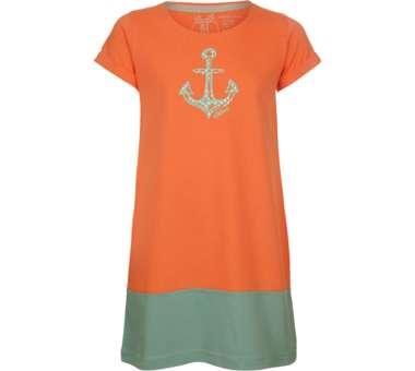 Farbenfroh Kleid flamingo-malachite   104