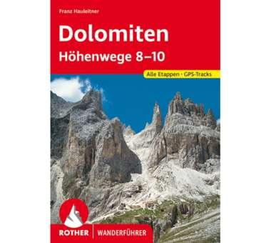 Wanderführer Dolomiten Höhenwege 8-10