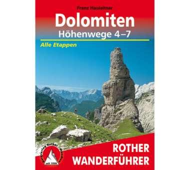 Wanderführer Dolomiten Höhenwege 4-7