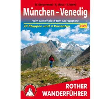 Wanderführer München - Venedig