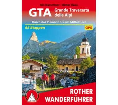 Wanderführer GTA – Grande Traversata delle Alpi