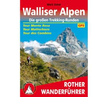 Walliser Alpen. Die großen Trekking-Runden