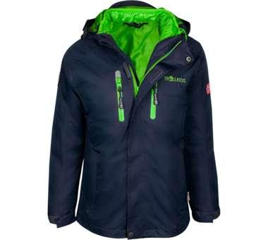 Kids Hammerfest 3in1 Jacket navy/viper green | 140