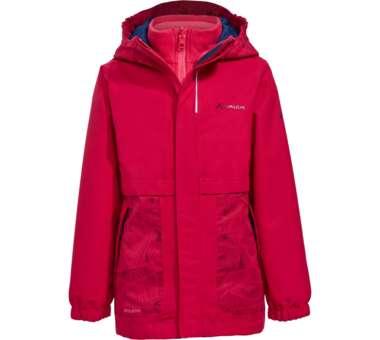 Kids Campfire 3in1 Jacket Girls crocus/pink   104