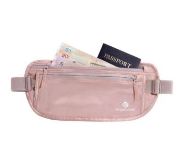 Silk Undercover Money Belt - rose