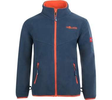 Kids Oppdal Jacket XT mystic blue/orange | 116
