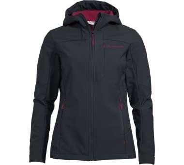 Women's Miskanti Softshell Jacket phantom black | 40