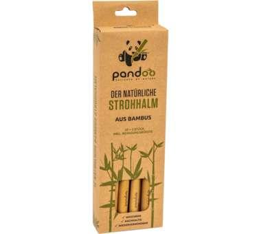 Bambus Trinkhalme 12 Stück