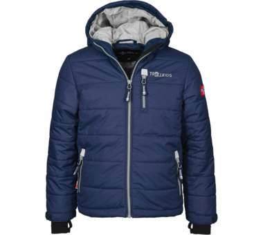 Kids Hemsedal Snow Jacket navy/silver grey | 140