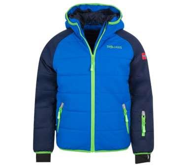 Kids Hafjell Snow Jacket XT navy/med blue/green   140