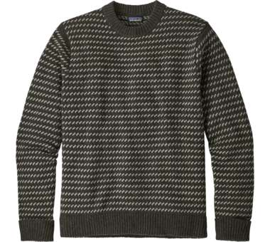 Recycled Wool Sweater Men