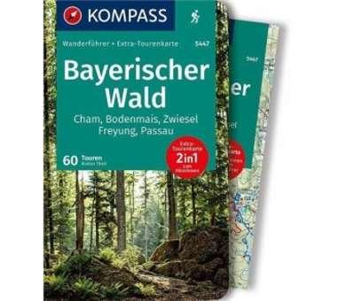 WF Bayerischer Wald m. Karte