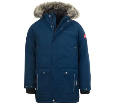 Kids Nordkapp Jacket mystic blue | 140