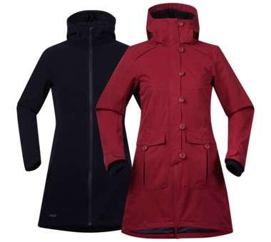 Bjerke 3in1 Lady Jacket burgundy / dark navy | M