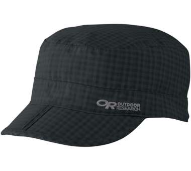 Radar Pocket Cap black check | M