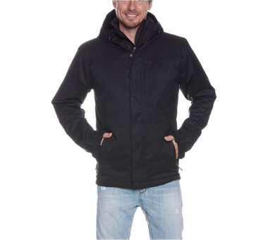 Jonno M's Hooded Jacket black | L