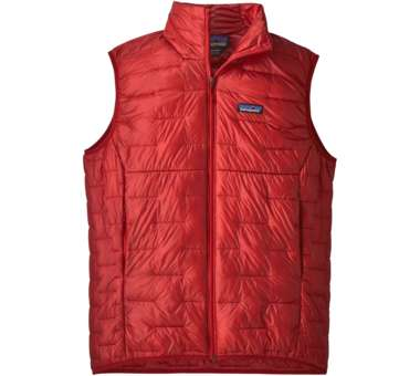 Micro Puff Vest Men fire | M