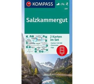Wanderkarte Salzkammergut