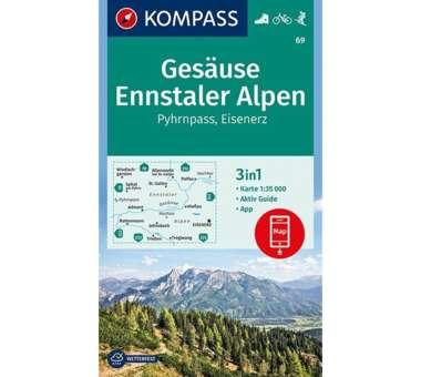 Wanderkarte Gesäuse, Ennstaler Alpen