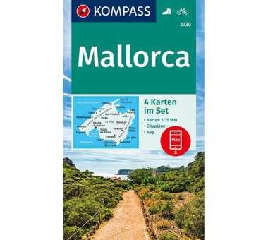 Wanderkarten Set Mallorca