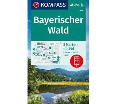 Wanderkarte Bayerischer Wald