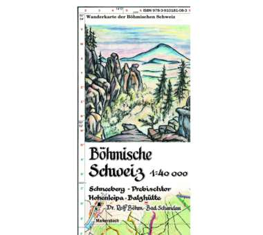 Böhmische Schweiz 1:40.000