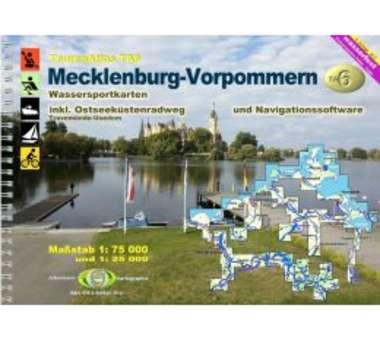 TourenAtlas TA6 Mecklenburg-Vorpommern