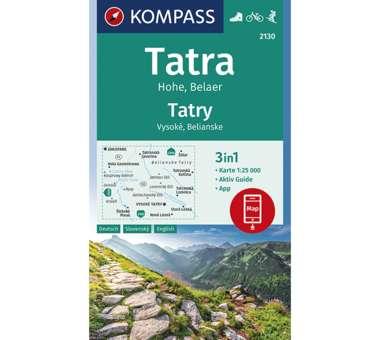 Wanderkarte Hohe Tatra