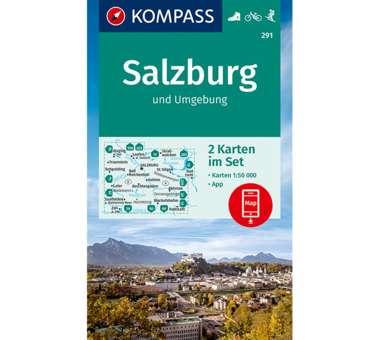Wanderkarte Salzburg und Umgebung