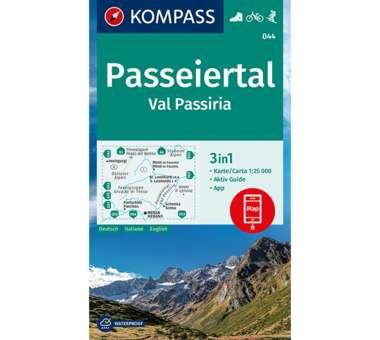 Wanderkarte Passeiertal, Val Passiria