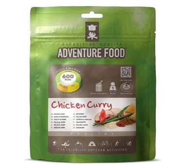 Huhn in Curryrahm Einzelportion (145g)
