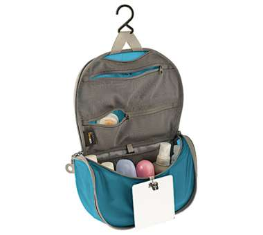 Hanging Toiletry Bag blue/grey | S