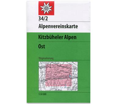 AV-Karte 34/2 Kitzbühler Alpen, Ost