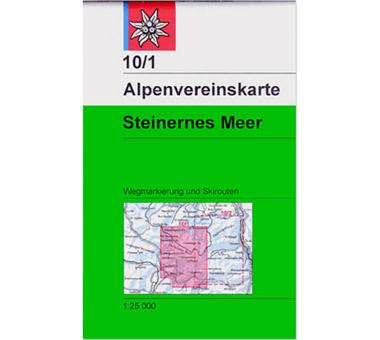 AV-Karte 10/1 - Steinernes Meer