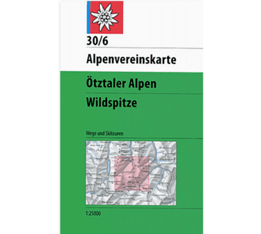 AV-Karte 30/6 - Ötztaler Alpen, Wildspitze