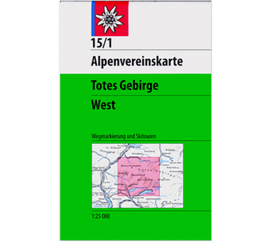 AV-Karte 15/1 - Totes Gebirge West