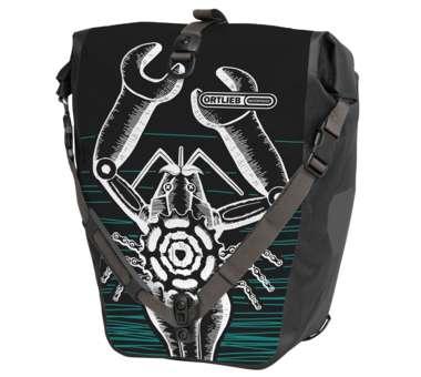 Back-Roller Design Einzeltasche Lobtool black