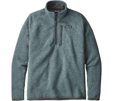 Mens Better Sweater 1-4 Zip shadowblue | S
